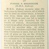 Firing a broadside (H.M.S. Rodney).