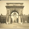 World War Commission. Russia. July 1917. Washington Arch.