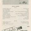 Program for the 1963 revival of The King and I