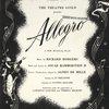 [Souvenir program for Allegro]