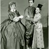 [Risë Stevens (Anna Leonowens), Frank Poretta (Lun Tha) and Lee Venora (Tuptim) in the 1964 revival of The King and I]