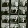 [Contact sheet of 12 publicity photographs of Richard Rodgers (music) and Risë Stevens (Anna Leonowens) in rehearsal for the 1964 revival of The King and I]