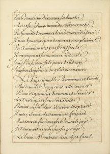 La Pucelle d'Orleans : poëme heroïcomique : manuscript, [175-?] / par Mr. de Voltaire.