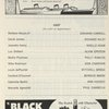 [Program for the opening night (3/15/1962) of No Strings]