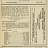 [Program (dated 10/11/1937) for the pre-Broadway engagement of I'd Rather Be Right at the Colonial Theatre (Boston, Mass.]