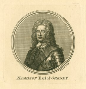 George Hamilton, Earl of Orkney.