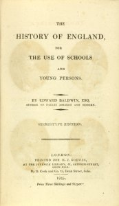 The history of England: for the use of schools and young persons