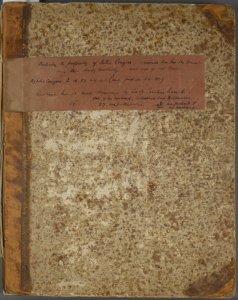 Julia Conyers album, ca. 1769-1830