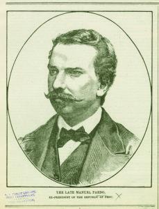 Manuel Pardo.