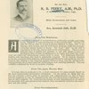 R. B. Peery, A.M., Ph.D.