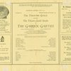 The Theatre Guild presents The Theatre Guild studio in The Garrick gaieties