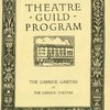 Theatre Guild program The Garrick gaieties at The Garrick Theatre