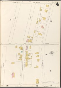 Brooklyn Vol. A Plate No. 4 [Map bounded by 68th St., Bay Ridge Ave., Ovington Ave.; Including 2nd Ave., 3rd Ave., 4th Ave.]