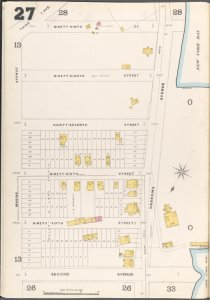 Brooklyn Vol. A Plate No. 27 [Map bounded by Marine Ave., 99th St., Narrows Ave., 2nd Ave.]