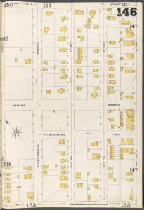 Brooklyn Vol. B Plate No. 146 [Map bounded by Bay 14th St., 86th St., 18th Ave., Bath Ave.]