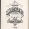 Insurance Maps of Brooklyn New York Sanborn map co. 113Broadway, New York. 1904.