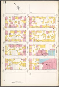 Brooklyn Plate No. 19 [Map bounded by Conover St., Wolcott St., Richards St., Beard St.]