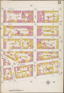 Brooklyn V. 2, Plate No. 32 [Map bounded by Willoughby St., Duffield St., Johnson St., Navy St.]
