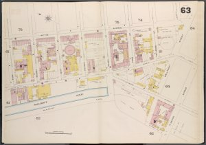 Brooklyn V. 3, Double Page Plate No. 63 [Map bounded by Wythe Ave., Flushing Ave., Willabout Canal, Roass St.]