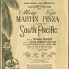 Mary Martin Ezio Pinza in a new musical play South Pacific