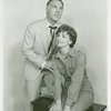 [William Chapman (Emile de Becque) and Allyn Ann McLerie (Nellie Forbush) in the 1961 revival of South Pacific]