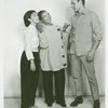 [Coco Ramirez (Liat), Rosetta LeNoire (Bloody Mary) and Stanley Grover (Lt. Joseph Cable) in rehearsal for the 1961 revival of South Pacific]