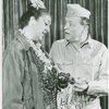 [Irene Byatt (Bloody Mary) and Lyle Talbot (Capt. George Brackett) in the 1967 revival of South Pacific]