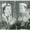 [Irene Byatt (Bloody Mary) and Justin McDonough (Lt. Joseph Cable) in the 1967 revival of South Pacific]