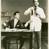 John Battles (Joseph Taylor, Jr.) and John Conte (Charlie Townsend) in Allegro]