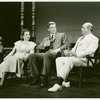 Annamary Dickey (Marjorie Taylor), William Ching (Dr. Joseph Taylor) and Paul Parks (Ned Brinker) in Allegro]