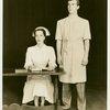 Lisa Kirk (Emily West) and John Battles (Joseph Taylor, Jr.) in Allegro]