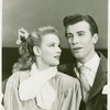 Roberta Jonay (Jennie Brinker) and John Battles (Joseph Taylor, Jr.) in Allegro]