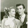 Roberta Jonay (Jennie Brinker) and John Battles (Joseph Taylor, Jr.) in Allegro]