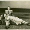 John Conte (Charlie Townsend) and Katrina Van Oss (Molly) in Allegro]