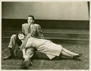 [John Conte (Charlie Townsend) and Katrina Van Oss (Molly) in Allegro]