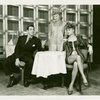 Jack Durant (Ludlow Lowell), Leila Ernst (Linda English) and June Havoc (Gladys Bump) in Pal Joey]