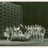 [Jack Durant (Ludlow Lowell) and ensemble in Pal Joey]