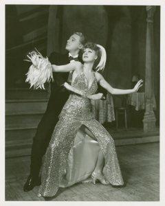 [Van Johnson (Victor) and June Havoc (Gladys Bump) in Pal Joey]