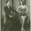 [George Tapps (Joey Evans replacement) and chorus girl in Pal Joey]