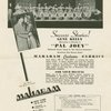 Advertisement in The American Dancer (March, 1941) featuring the cast of Pal Joey