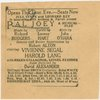 Theatre listing for the 1952 revival of Pal Joey