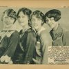 [Clipping featuring Bobbie Perkins (Betsy), Barbara Newberry (May Meadow), Evelyn Law (FLora Dale) and Madeleine Cameron (Winnie Hill) in Betsy]