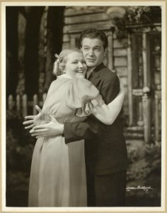 [Wynn Murray (Baby Rose) and Alfred Drake (Marshall Blackstone) in Babes in Arms]