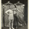 [Jimmy Savo (Dromio of Syracuse) and Heidi Vosseler (Secretary to Courtesan) in The Boys from Syracuse]