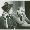[Kay Medford (Melba Snyder) and Bob Fosse (Joey Evans) in the 1963 revival of Pal Joey]