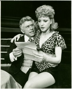 [Joe Sirola (Ludlow Lowell) and Janie Sell (Gladys Bump) in the 1976 revival of Pal Joey]