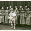 Jimmy Savo (Dromio of Syracuse), Buddy Douglas (dancer) and cast in The Boys from Syracuse]