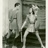 Ronald Graham (Theseus) and Nanette Fabray (Antiope) in By Jupiter]