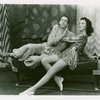 Ray Bolger (Sapiens) and Nanette Fabray (Antiope) in By Jupiter]