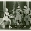 Nanette Fabray (Antiope), Ralph Dumke (Hercules) and Ronald Graham (Theseus) in By Jupiter]
